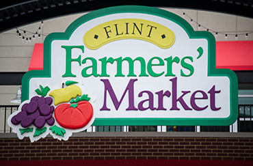 farmers market sign